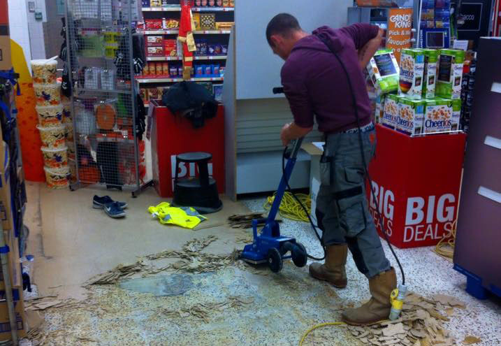Shop Fitting Flooring